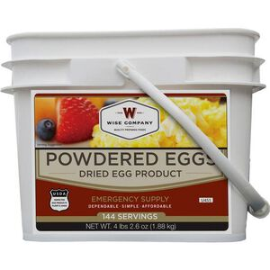 Wise Company Freeze Dried Powdered Eggs 144 Servings