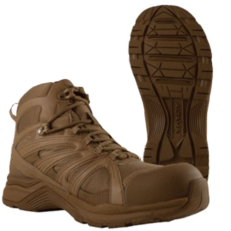 Altama Aboottabad Trail Mid Height Men's Boot Size 10.5 Wide Coyote
