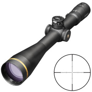 Leupold VX-5HD 7-35x56 Rifle Scope Non-Illuminated TMOA Reticle 34mm Tube .25 MOA Adjustment Second Focal Plane Side Parallax Adjustment Matte Black Finish