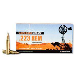 Australian Outback .223 Rem 55 Grain BlitzKing 20 Round Box