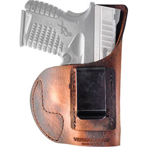 Versacarry Element IWB Holster SIG Sauer P365 Right Hand Leather Distressed Brown