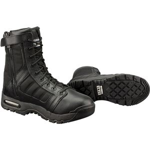 "Original S.W.A.T. Metro Air 9"" SZ 200 Men's Boot Size 7 Regular Non-Marking Sole Water Proof Insulated Leather Black"