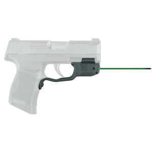 Crimson Trace LG-422G Green LaserGuard For SIG Sauer P365 Models Front Activation Polymer Housing Matte Black