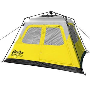PahaQue Basecamp Quick Pitch Tent 6 Person Grey/Yellow