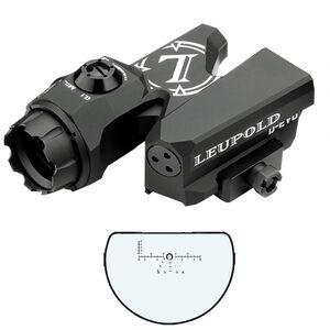 Leupold D-EVO Dual-Enhanced View Optic 6x20 Riflescope CMR-W DEVO Reticle .1 Mil Adjustments Picatinny Mount Aluminum Housing Matte Black