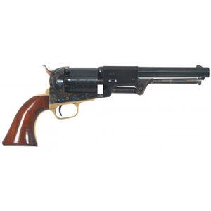 "Cimarron 3rd Model Dragoon Black Powder Revolver 44 Caliber 7.5"" Barrel 6 Rounds Walnut Grips Blued"