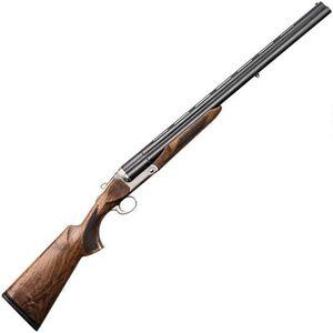 "Charles Daly Triple Crown 20 Gauge Triple Barrel Break Action Shotgun 26"" Barrels 3"" Chambers 3 Rounds Extractor Walnut Stock Matte Blued"