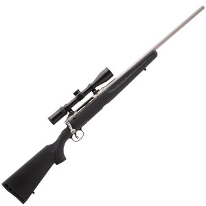 "Savage Axis XP 350 Legend Bolt Action Rifle with 3-9x40 Scope 18"" Barrel 4 Rounds Detachable Box Magazine Synthetic Black Stock Stainless Barrel"