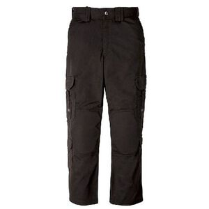 5.11 Tactical Men's EMS Pants Polyester Cotton Twill Waist 38 Length 32 Black 74310