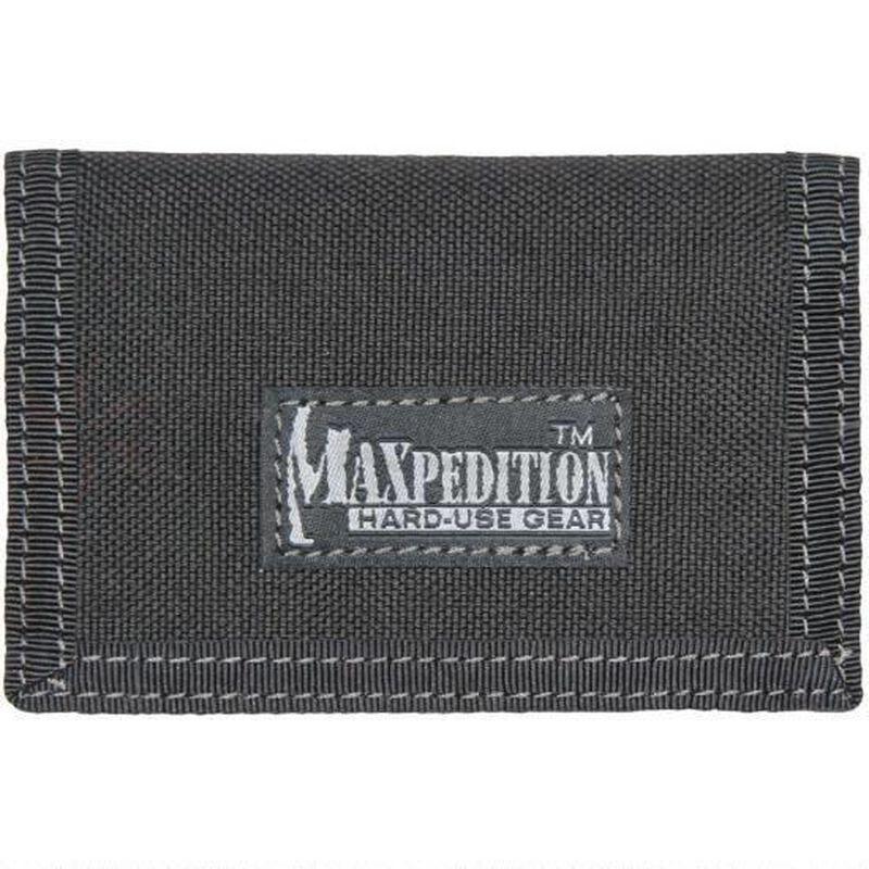 "Maxpedition Micro Wallet 4.5""x.5""x3"" Nylon Black"