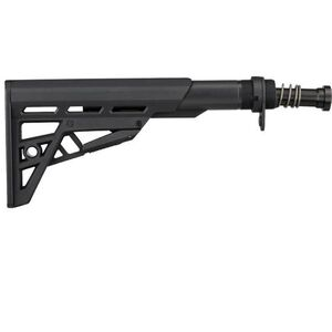 ATI TactLite AR-15 Mil-Spec Stock and Buffer Tube Assembly Package, Black