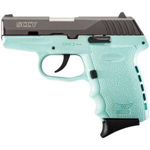 "SCCY CPX-2 9mm Luger 3.1"" Barrel 10 Rounds Black/Blue"
