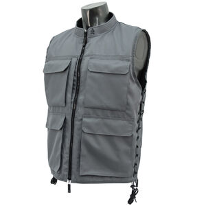 UTG True Hunter Male Sporting Vest (M to XL), Gray/Black