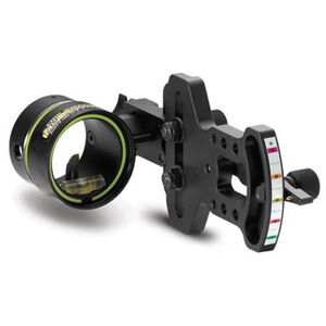 HHA Optimizer Lite 5519 Single Pin Bow Sight Aluminum Black