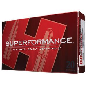 Hornady Superformance .338 RCM Ammunition 20 Rounds SST PT 225 Grains 82236