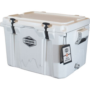 Cordova 50 Medium Cooler, 48 Quarts, White