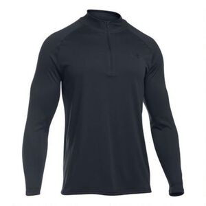 Under Armour Men's Tech 1/4 Zip L/S Shirt 2XL Black