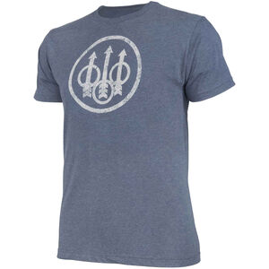 Beretta USA Distressed Trident Men's Short Sleeve T-Shirt Cotton/Polyester