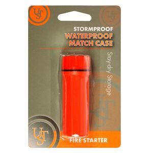 Ultimate Survival Technologies Waterproof Match Case Orange 20-310-009