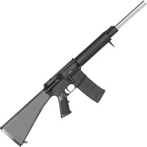 "DPMS Panther Arms Sweet 16 .223 Rem 16"" Stainless Steel Bull Barrel Aluminum Free Float Tube A2 Fixed Stock Black RFA2-B16"