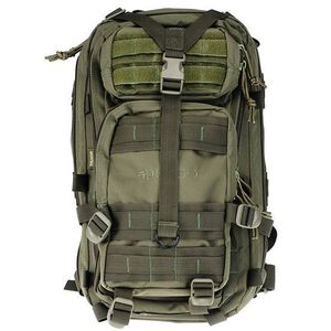 "DRAGO Gear Tracker Backpack 18""x11""x11"" 600D Polyester Green 14-301GRN"