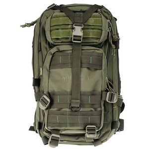 "DRAGO Gear Tracker Backpack 18""x11""x11"" 600D Polyester Green 14-301GRN"
