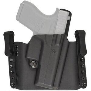 Comp-Tac Flatline Holster GLOCK 17/22/31 OWB/IWB Right Handed Kydex Black