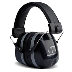 Walker's Game Ear Passive Adult Folding Earmuffs 32 dB Noise Reduction Rating Black