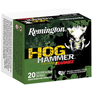 Remington Hog Hammer .41 Magnum Ammunition 20 Rounds 180 Grain Barnes XPB Copper Hollow Point 1510 fps