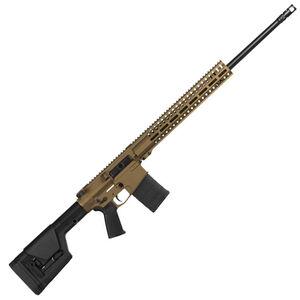 "CMMG Endeavor 300 Mk3 Series 6.5 Creedmoor AR Style Semi Auto Rifle 24"" Barrel 20 Rounds CMMG RML15 M-LOK Hand Guard Cerakote Burnt Bronze"