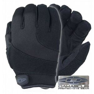 Damascus Protective Gear Patrol Guard Gloves Kevlar Black