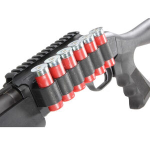 TacStar SideSaddle Shotshell Carrier with Rail Mount for 12-Gauge Benelli M4 6 Rounds