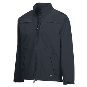 Dickies Outdoor Apparel Soft Shell Tactical Jacket Polyester/Spandex XXL Midnight Blue LJ540MD 2X