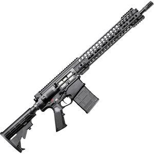 "POF USA Edge 6.5 Creedmoor Semi Auto Rifle 16.5"" Barrel 20 Rounds Short Stroke Gas Piston System 14.5"" M-LOK Rail Matte Black"