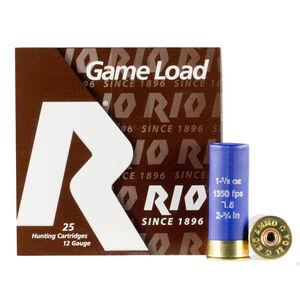 """Rio Super Game Load HV 12 Gauge Ammunition 250 Rounds 2-3/4"""" #7.5 1-1/8oz Lead Shot 1350fps"""