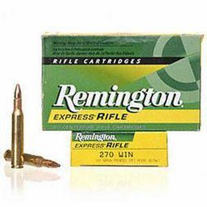 Remington Express .270 Winchester Ammunition 20 Rounds Core-Lokt PSP 100 Grains R270W1