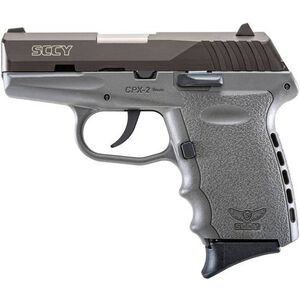 """SCCY CPX-2 9mm Luger 3.1"""" 10rds No Safety Gray/Black"""