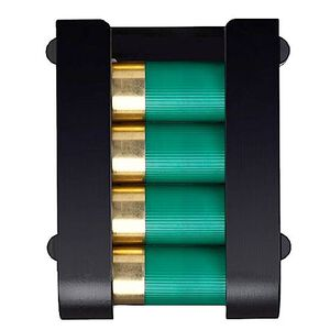 Safariland 12 Gauge Shotgun Shell Holder 4 Shells with Locking Fork and Receiver Plate Mount 085-12-23-MS36