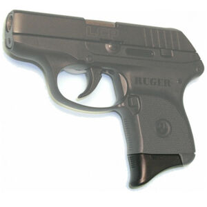 Pearce Grip Extension Ruger LCP Polymer Black Two Pack PGLCP