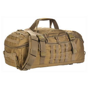 Red Rock Outdoor Gear Traveler MOLLE Duffle Bag Polyester Coyote Tan 80260COY