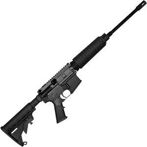 """Del-Ton Echo 316L Optics Ready 5.56 NATO AR-15 Semi Auto Rifle 16"""" Barrel 30 Rounds Standard CAR Handguard Collapsible Stock Black"""