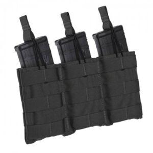 Tac Shield Triple Speed Load AR-15 Rifle Magazine Pouch 1000D Nylon Black T3508BK