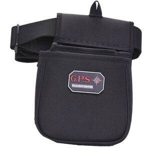 G Outdoors Contoured Double Shotshell Pouch Black