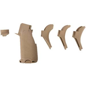 BCM AR-15 BCMGUNFIGHTER Grip Mod 2 Polymer Flat Dark Earth BCM-GFG-MOD-2-FDE