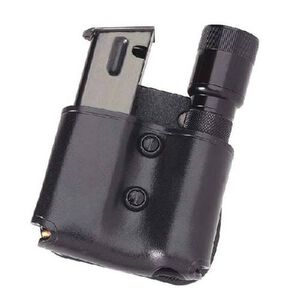 "Galco MFP Cop Mag Flashlight Paddle Ambidextrous Fits SIG P220 and 1"" Barrel Flashlight Leather Black"
