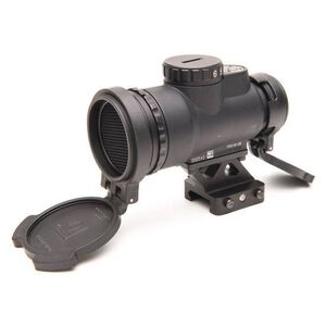 Trijicon MRO Patrol 1x25 Miniature Rifle Optic 2.0 MOA Adjustable Red Dot 1/2 MOA Adjustments CR2032 Lithium Battery Lower 1/3 Co-Witness Quick Release Mount Matte Black
