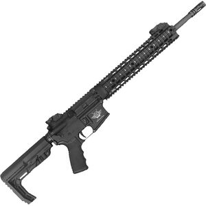 "CFA Katy-15 AR-15 Semi Auto Rifle 5.56 NATO 16"" Barrel 30 Rounds Free Float Quad Rail 6 Position MFT Minimalist Stock Black"