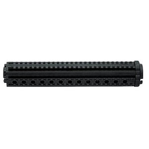 Mission First Tactical AR-15 Rifle Length 2-Piece Drop In Handguard Four Sided Picatinny Rail System High Density Polymer M44L