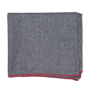Fox Outdoor Wool Camp Blanket Dark Grey 818-9