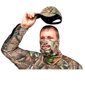Primos Stretch Fit 1/2 Face Mask Realtree APG HD Camo
